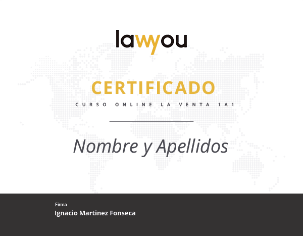 certificado seminaro lawyou